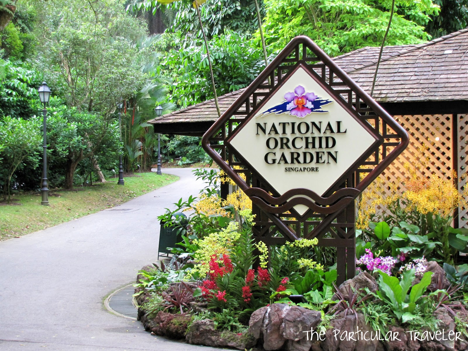 Vườn bách thảo Singapore orchid garden